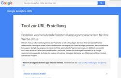 Tool zur URL Erstellung